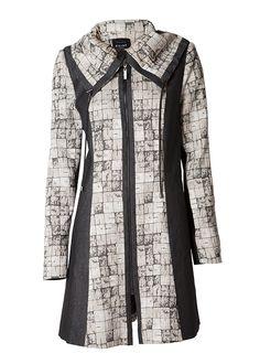 Stilsäker kappa med inspiration från naturen Kappa, Sweaters, Inspiration, Beauty, Fashion, Moda, Fashion Styles, Pullover, Cosmetology