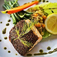 Pistachio Encrusted Salmon