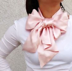 Your place to buy and sell all things handmade Silk Charmeuse, Evening Dresses, Pink Bows, Ruffle Blouse, Feminine, Classy, Elegant, Handmade, Chic