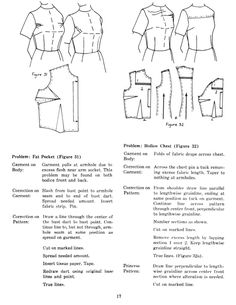 Vintage Pattern Alteration Book -- very good diagrams