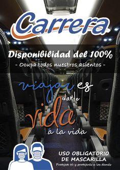 Autocares Carrera Carrerabus Perfil Pinterest