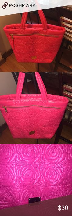 Bright Pink Quilted INC bag NWOT INC pink Quilted bag INC International Concepts Bags Shoulder Bags