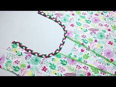 New Front Neck design cutting and stitching - YouTube