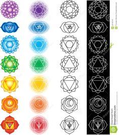 chakra mandala tattoo - Google Search