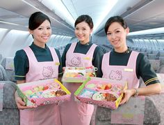 Would love to fly with Eva Air's Hello Kitty plane <3