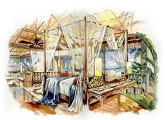 Home Decoration Online Shopping Refferal: 4121632280 Interior Architecture Drawing, Interior Design Renderings, Drawing Interior, Architecture Sketchbook, Interior Rendering, Interior Sketch, Interior Doors, Perspective Sketch, Point Perspective