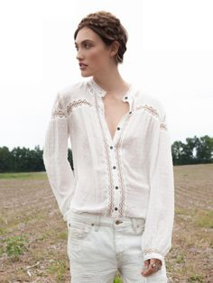 Free People Every Day Girl Swiss Buttondown at Free People Clothing Boutique