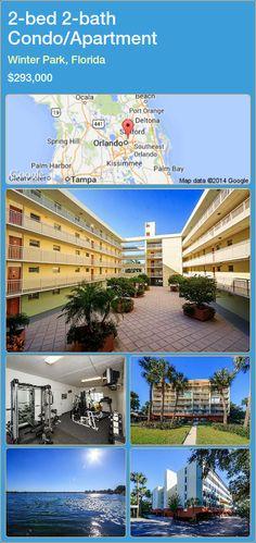 2-bed 2-bath Condo/Apartment in Winter Park, Florida ►$293,000 #PropertyForSaleFlorida http://florida-magic.com/properties/29010-condo-apartment-for-sale-in-winter-park-florida-with-2-bedroom-2-bathroom