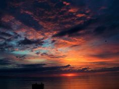Pretty Sky Near Sunrise