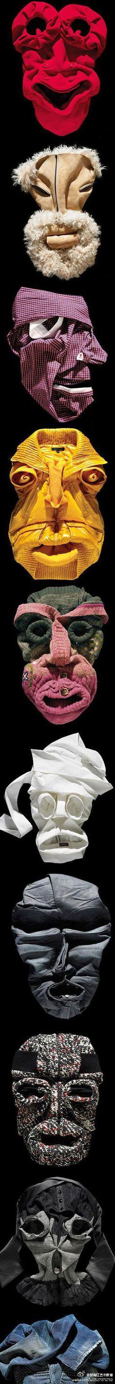 masker van een kledingstuk