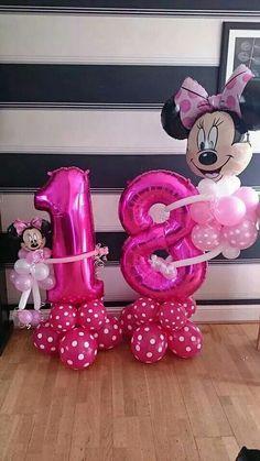 Minnie  #theme #balloons #bellissimoballoons