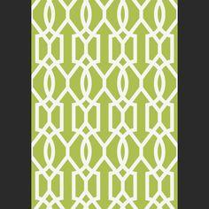 Papiers peints Downing Gate - Green à vendre en ligne (Blanc et Vert)