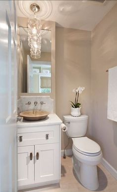Picture Collection Website Benjamin Moore Alaskan Skies Like the wall color and the white vanity