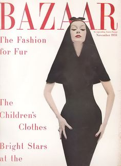 Harper's Bazaar November 1955