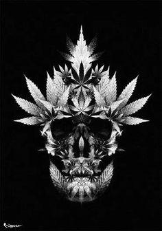 Potleaf skull.