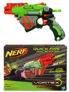 Nerf Vortex Proton Top Toy Review