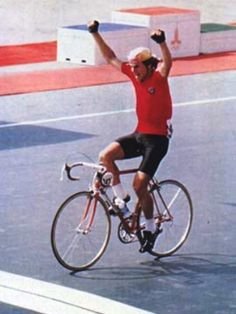 "The 189 km individual cycling road race gold was won by Sergei Sukhoruchenkov (USSR). British team manager Peter Crinnon called it ""The greatest exhibition of power riding ever""."