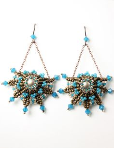 MadDesigns: Beaded Earrings