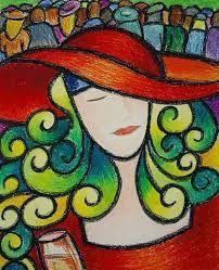 「oil pastel paintings for beginners」的圖片搜尋結果