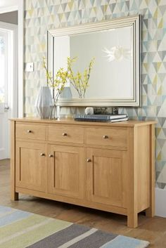 Stanton® Sideboard From Next   Love Everything About This Picture,  Including The Rug And