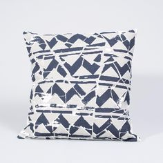 Aida Collaborative  Mosaic Print Cushion: Mosaic print cushion. A little piece of hand made heaven to add to your interior accessories list! These cushions have been screen printed with our own textile inspired designs, woven with Fairtrade cotton from India and put together by social enterprise, Fabric Works, in London.