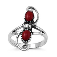 Oval Simulated Garnet Cubic Zirconia Stone Filigree Noveau Ring 925 Sterling Silver Size 8 -- Check out this great product. (This is an affiliate link) Garnet Stone, Red Garnet, Gemstone Colors, Gemstone Rings, Stone Cuts, Anniversary Rings, Metal Stamping, Fashion Rings, Heart Ring