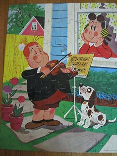 Vintage 1960 Whitman Little Lulu Tubby Jigsaw Puzzle Complete IN BOX