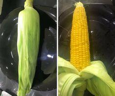 Így a leggyorsabb: készíts mikróban főtt kukoricát három perc alatt