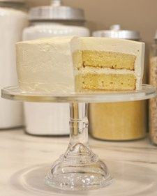 """This sweet Swiss-meringue buttercream from """"Martha Stewart's Cooking School"""" is perfect for frosting cakes."""
