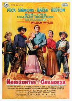 Horizontes de grandeza - The Big Country