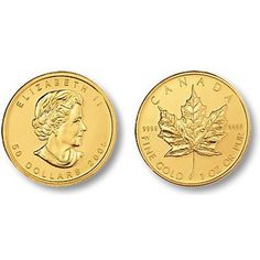 Canadian Gold Maple Leaf Bullion Coin 0.9999 Pure  #Gold  #401K #IRA #Investing #Bullion #regal_assets_review #Regal_Assets