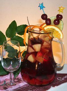 Horké alkoholické (nejen) vánoční nápoje | ReceptyOnLine.cz - kuchařka, recepty a inspirace Sangria, Beverages