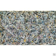 """Find the latest shows, biography, and artworks for sale by Jackson Pollock. Major Abstract Expressionist Jackson Pollock, dubbed """"Jack the Dripper""""… Pollock Artist, Pollock Paintings, Museum Of Contemporary Art, Modern Art, Jackson Pollock Art, Harvard Art Museum, New York, Action Painting, First Art"""
