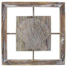 Assorted Seashell or Starfish Frame Decor