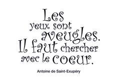 Citation du Petit Prince - Antoine de Saint-Exupéry
