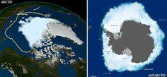 Misterio y Ciencia Hoy: Polos opuestos: La Antártida crece mientras el Árt...