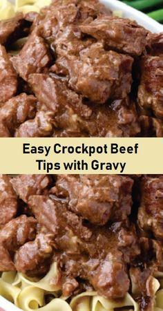 Crock Pot Beef Tips, Beef Tip Recipes, Crockpot Dishes, Crock Pot Cooking, Beef Dishes, Cooking Recipes, Recipe Using Beef Tips, Venison Tips Recipe, Crockpot Recipes Beef Tips