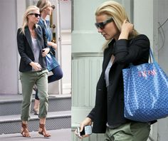 the goyard st louis tote is my new obsession