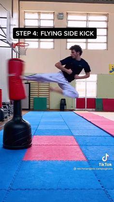 Boxing Training Workout, Kickboxing Workout, Mixed Martial Arts Training, Martial Arts Workout, Self Defense Moves, Self Defense Martial Arts, Martial Arts Techniques, Self Defense Techniques, Jiu Jutsu