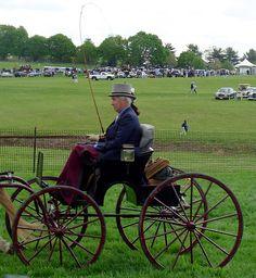 antique carriage parade.