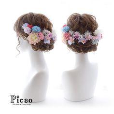 . Gallery 329 . Order Made Works Original Hair Accessory for SEIJIN-SHIKI . ⭐️成人式髪飾り⭐️ . 振袖柄からチョイスしたピンク×パープル×ブルーのマム&小花でしっかり合わせたPicco人気の花冠ふうアレンジ✨ 帯締めレッドをアクセントに、かすみ草でふんわり仕上げて、可愛さがグーンとアップ . . . #Picco #オーダーメイド #髪飾り . #花冠 #可愛い #ふんわり #成人式ヘア . デザイナー @mkmk1109 . . . . #成人式 #成人式髪型 #振袖 #前撮り #卒業式 #ヘアスタイル #袴 #結婚式ヘア #和装ヘア #和服 #キモノ #プレ花嫁 #花嫁 #挙式 #披露宴 #ドレス #カラードレス #marry #cute #hairdo #kimono #hairarrange #flowercrown