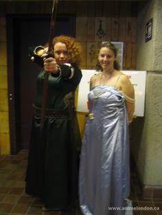 Princess Merida & Queen Elinor - BRAVE Princess Merida, Online Images, Brave, Sari, Cosplay, Queen, Gallery, Fashion, Saree