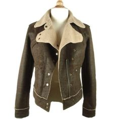 Awesome Victorias Secret  Shearling Jacket This is a great coat/jacket for winter. Three zippered pockets in front. Very warm. Excellent Condition. Faux. By Moda International. Victoria's Secret Jackets & Coats
