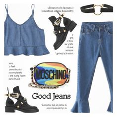 Good Jeans by novalikarida on Polyvore featuring polyvore, fashion, style, Balenciaga, Moschino and clothing