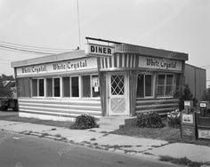 White Crystal 1950s Vintage Diner 8x10 Reprint of Old Photo | eBay