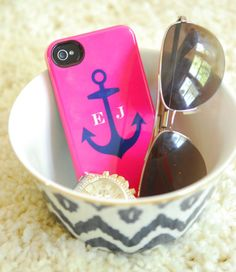 Love the anchor with the initials case!!!