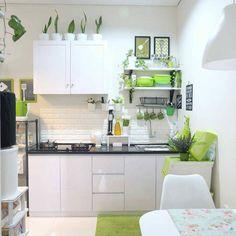 all idea inspiration design interior and exterior home modern decor Kitchen Room Design, Kitchen Cabinet Design, Kitchen Sets, Home Decor Kitchen, Kitchen Interior, Scandinavian Kitchen Cabinets, Minimalist Kitchen, Art Photography, Design Ideas
