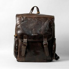 1202 leather bag backpack backpack school personalized leather ...