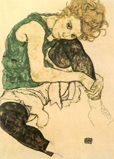 Egon Schiele : June 1890 – October was an Austrian painter. A protege of Gustav Klimt, Schiele was a major figurative. Art Prints, Art Painting, Egon Schiele, Illustrations Posters, Drawings, Art Print Display, Illustration Art, Art, Posters Art Prints