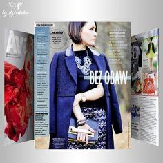 W kwietniowym Avanti Sylwia, autorka shinysyl.com przedstawia m.in.  swoje ulubione marki. Wśród nich nie mogło zabraknąć By Dziubeka. #bydziubeka #jewelry #neckless @Shiny Syl